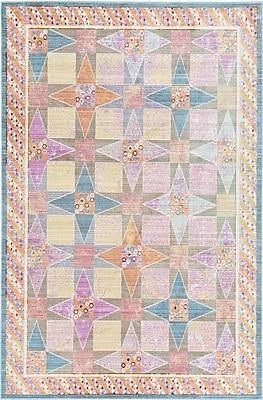 Bungalow Rose Rune Area Rug; 5' x 8'