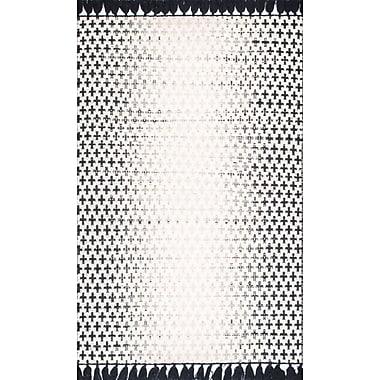 Mistana Rabat White Area Rug; 5' x 8'