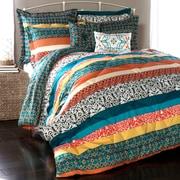 World Menagerie Todrick 7 Piece Reversible Comforter Set; Full / Queen