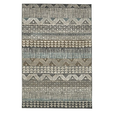Bungalow Rose Amya Gray Area Rug; 8' x 11'