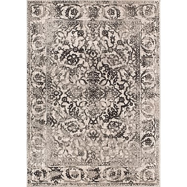 Bungalow Rose Allentow Traditional Gray Area Rug; 7'10'' x 10'6''