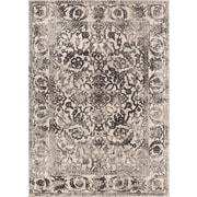 Bungalow Rose Allentow Traditional Gray Area Rug; 5'3'' x 7'3''