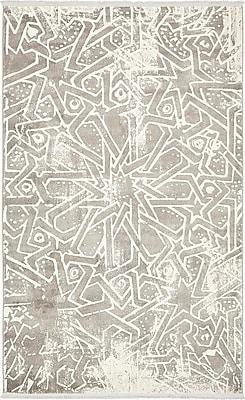 Bungalow Rose Wilton Gray Area Rug; 5' x 8'