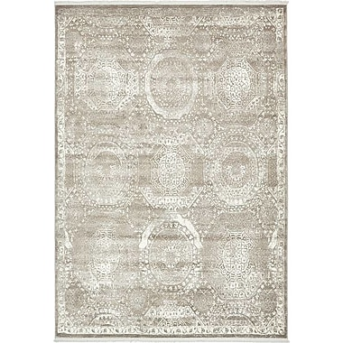 Bungalow Rose Wilton Gray Area Rug; 7' x 10'