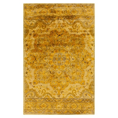 Bungalow Rose Arensburg Beige/Brown Area Rug; 8' x 11'