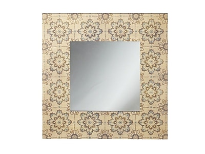 Bungalow Rose Medallion Wall Mirror