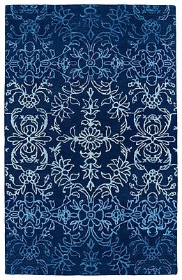 Bungalow Rose Paita Blue Area Rug; 9'6'' x 13'