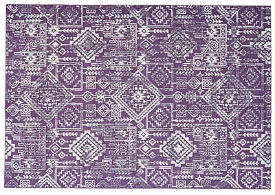 Bungalow Rose Gharass Violet Area Rug; 8' x 11'
