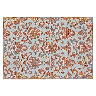Bungalow Rose Gharass Apricot Area Rug; Runner 2'10'' x 7'10''