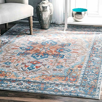 Bungalow Rose Camron Gray Area Rug; Runner 2'6'' x 8'