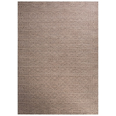 Bungalow Rose Julien Ivory/Gray Area Rug; 2' x 3'