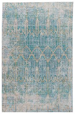 Bungalow Rose Javon Blue Area Rug; 5' x 8'