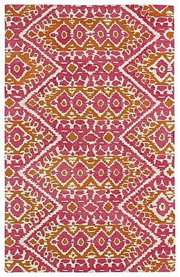Bungalow Rose Hocca Pink Area Rug; 8' x 10'