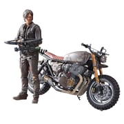 McFarlane Toys The Walking Dead (TV) DARYL WITH CUSTOM BIKE DELUXE BOX Action Figure