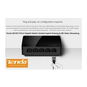 Tenda – Commutateur Gigabit 5 ports SG105 (NET-TD-SG105)