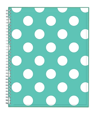 Blue Sky 2018 CYO (Create Your Own) Cover Weekly/Monthly Planner, Penelope, 8.5