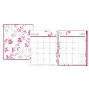 "2018 Blue Sky Breast Cancer Awareness 8"" x 10"" CYO (Create Your Own) Cover Monthly Planner, Alexandra (101621)"