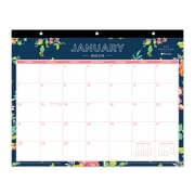 Tablet Calendar DD Navy Floral 11x8.75 RY 2018 Monthly