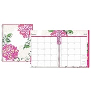 "2018 Blue Sky 8.5"" x 11"" Weekly/Monthly Planner, Dahlia (101707)"