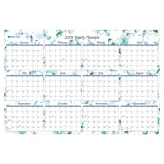 "2018 Blue Sky 36"" x 24"" Laminated Calendar, Lindley (BSK 100030)"