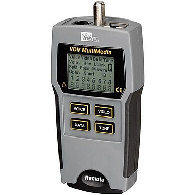 IDEAL VDV MultiMedia Cable Tester (33-856)