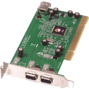 SIIG 3 Port Low Profile 1394 FireWire Adapter (LP-N21011-S8)