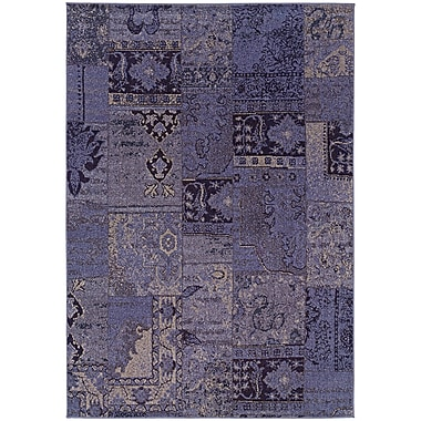 Bungalow Rose Raiden Multi-Colored Patchwork Area Rug; 1'10'' x 3'3''