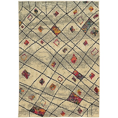Bungalow Rose Marquis Ivory Area Rug; 9'9'' x 12'2''