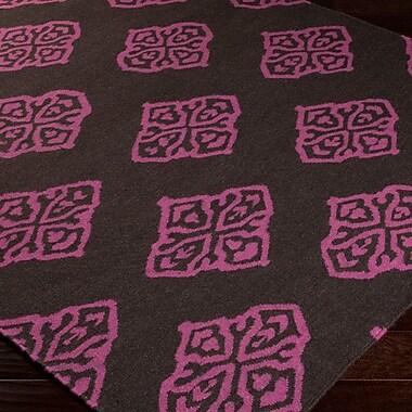 Bungalow Rose Faith Wenge Geometric Area Rug; 8' x 11'