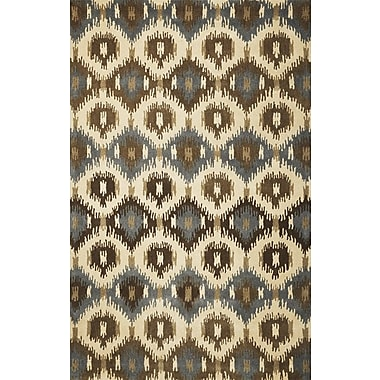 Bungalow Rose Jagger Ivory Allover Mosaic Area Rug; 3'3'' x 5'3''