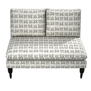 Bungalow Rose Ilana Armless Love Seat