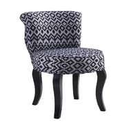 Bungalow Rose Jackson Triangle Trellis Side chair