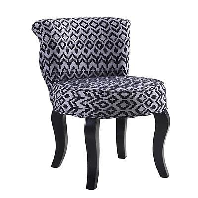 Bungalow Rose Jackson Triangle Trellis Side chair