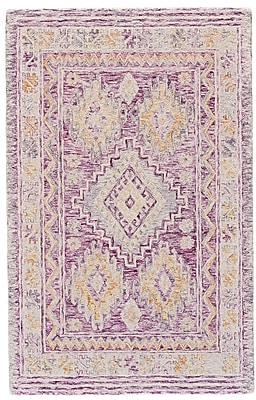 Bungalow Rose Carlotta Hand-Tufted Pink Area Rug; 2' x 3'