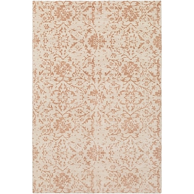 Bungalow Rose Ashton Hand-Knotted Camel/Cream Area Rug; 9' x 13'