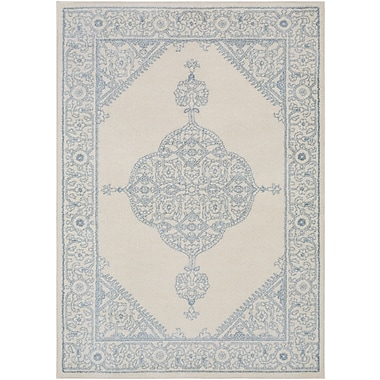 Bungalow Rose Corinna Cream Area Rug; 2' x 3'