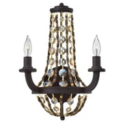 Bungalow Rose Marla 2-Light Wall Sconce