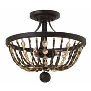 Bungalow Rose Marla 3-Light Semi Flush Mount