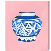 Bungalow Rose 'Antique China Pale' Painting Print on Wrapped Canvas; 20'' H x 17'' W x 1.5'' D