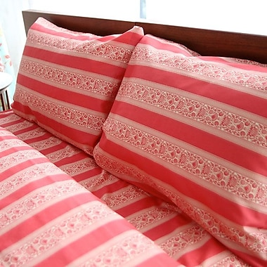 Bungalow Rose Deborah 300 TC Cotton Sheet Set; Full