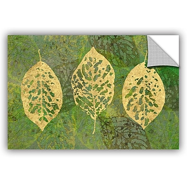 Bungalow Rose Fallen Leaves Wall Decal; 12'' H x 18'' W x 0.1'' D