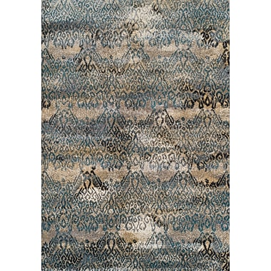 Bungalow Rose Homeland Teal Area Rug; 5'3'' x 7'7''