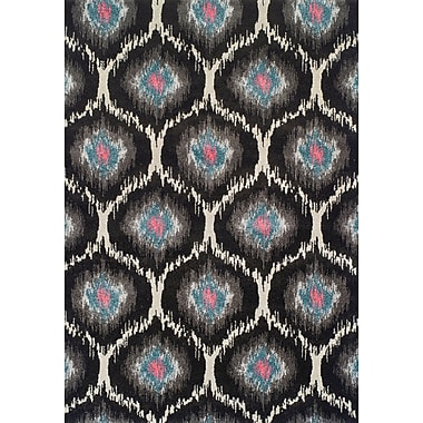 Bungalow Rose Theodora Charcoal Area Rug; 7'10'' x 10'7''