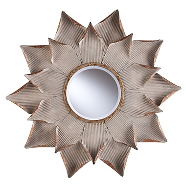 Bungalow Rose Sunburst Decorative Wall Mirror