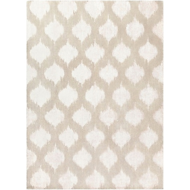 Bungalow Rose Norwell Light Gray Chic Area Rug; 8' x 11'