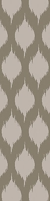 Bungalow Rose Norwell Light Gray Chic Area Rug; Runner 2'6'' x 10'