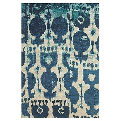 Bungalow Rose Anderson Hand-Loomed Blue Area Rug; 8' x 11'