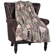 Bungalow Rose Loganne Microfiber Flannel Blanket; Turtle Dove