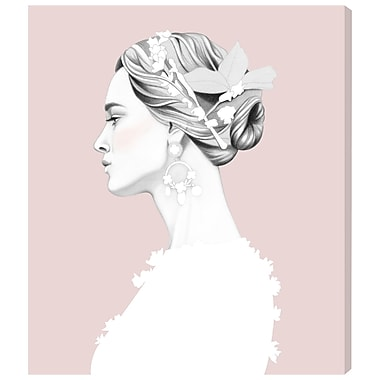 Bungalow Rose 'Dolce Rose' Graphic Art Print on Wrapped Canvas; 16'' H x 13'' W x 1.5'' D