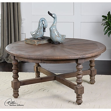 Bungalow Rose Essehoul Wooden Coffee Table